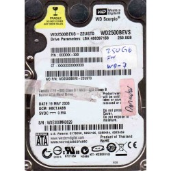 WD2500BEVS- 22UST0,...