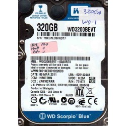 WD3200BEVT-00A0RT0, DCM...