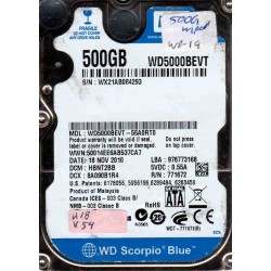 WD5000BEVT-55A0RT0,...