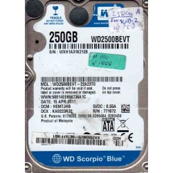 WD2500BEVT-22A23T0,...