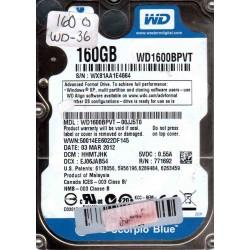 WD1600BPVT-00JJ5T0,...