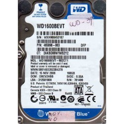 WD1600BEVT-60ZCT1,...