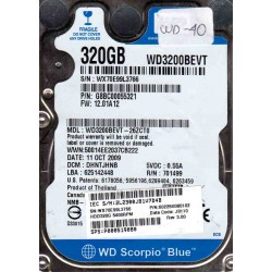 WD3200BEVT-26ZCT0,...
