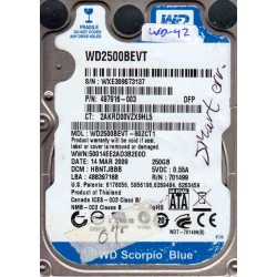 WD2500BEVT-60ZCT1,...